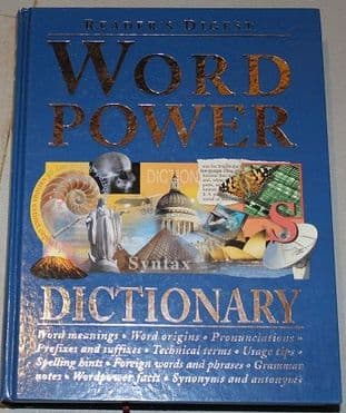 Word Power Syntax Dictionary by Reader's Digest - 0276424638