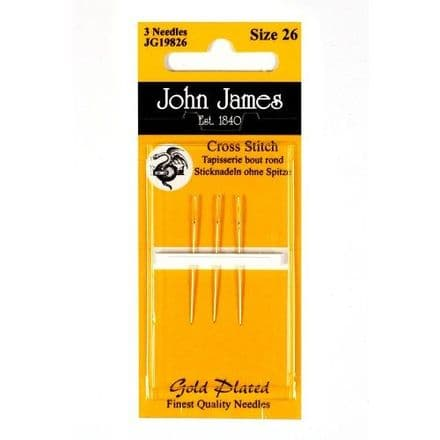 John James Gold Tapestry Needles