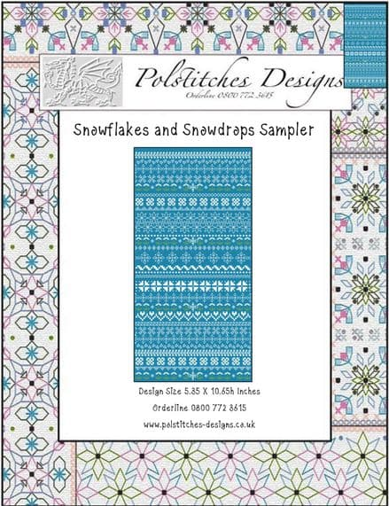 Snowflakes and Snowdrops Sampler