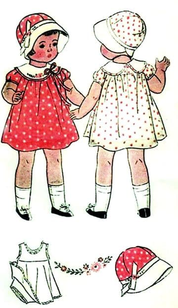 PDF Digital Download,  Vintage sewing Pattern Shirley Temple, Patsy Lou, Doll Clothes