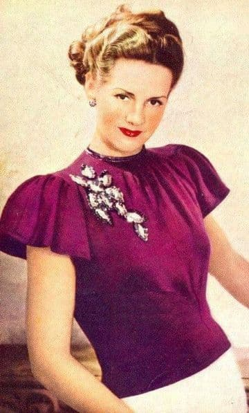 DIGITAL DOWNLOAD PDF VINTAGE KNITTING PATTERN LADIES WOMENS EVENING SWEATER TOP CAP SLEEVES 1950S