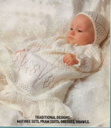 PDF Digital Download Vintage Crochet & Knitting Pattern Book Baby Babies Clothes 22 Patterns 60 Page
