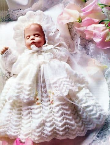 PDF Digital Download Vintage Knitting Pattern Doll Clothes 7 inch Bisque Doll Toy Dolls Toys