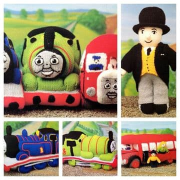 PDF Digital Download Vintage Knitting Pattern Thomas The Tank Engine & Friends Toys