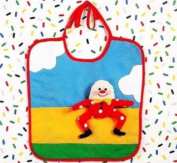 PDF Digital Download Vintage Sewing Pattern Baby Babies Child's Humpty Dumpty Bib