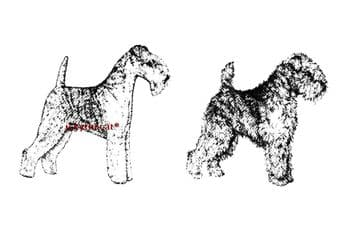 PDF Digital Download Vintage Sewing Pattern Full Size Lakeland Terrier Dog Soft Toy Animal