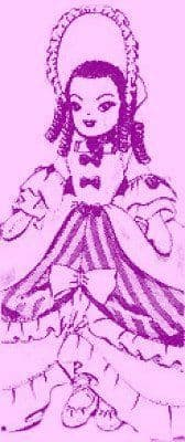 PDF Digital Download Vintage Sewing Pattern Laura Wheeler 16'' Doll Movable Arms Legs Soft Toy