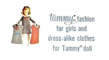 PDF Digital Sewing Pattern for Tammy Doll's Clothes Only