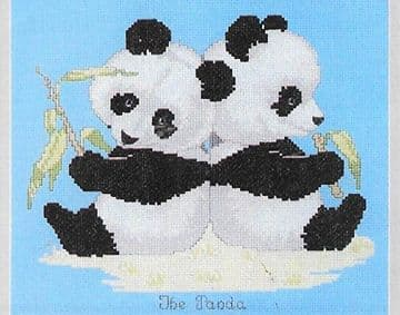 PDF DIGITAL ​​​​​​​SEWING PATTERN PANDA BEAR CROSS STITCH PATTERN