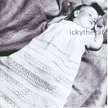 Vintage Crochet Pattern to make Baby A Long Christening Dress Gown in 3 ply Chest 17 & 18 inches