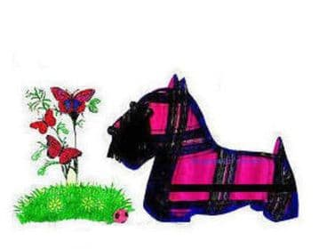 Vintage Scottie  Dog Sewing Pattern in Two Sizes PDF