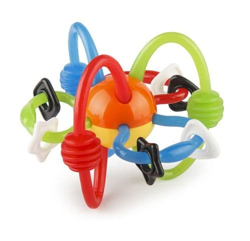 Infantino Rattle and Teether Chew