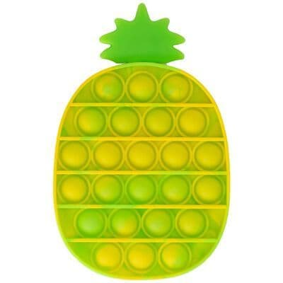 Pop It Push Poppers Pineapple Toy
