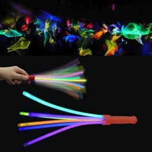 Rainbow Glowsticks Wand