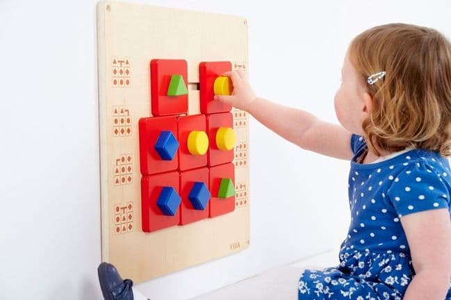 Sensory Wall Maze Manipulative Wall Toy