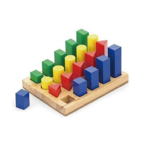 WoodenShape Sequence Blocks