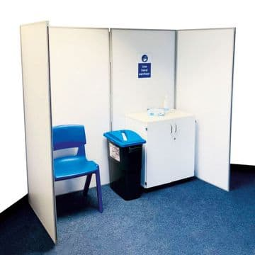 Vaccination Booths - Folding