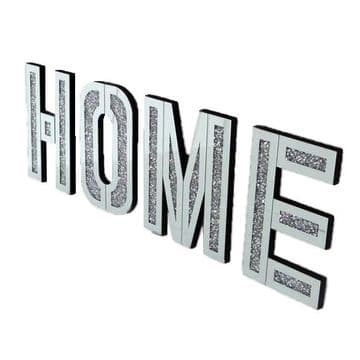 Crushed Diamond Home Letters