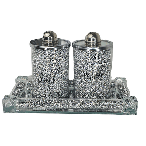 Salt and Pepper Set with Tray