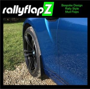BMW M2 BLACK MUDFLAPS