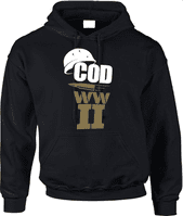 COD WWII BULLET HOODIE - INSPIRED BY CALL OF DUTY