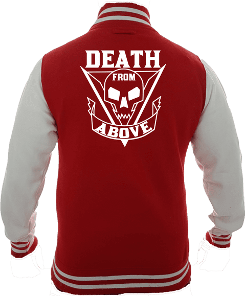 DEATH FROM ABOVE VARSITY - INSPIRED BY ALIEN STARSHIP TROOPERS