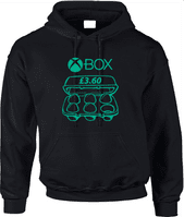 EGGSBOX 360 HOODIE - INSPIRED BY THE LEGENDARY TWO RONNIES HARRY ENFIELD CHILDREN IN NEED