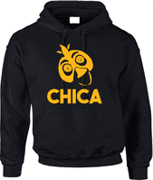 FNAF CHICA HOODIE - INSPIRED BY FIVE NIGHTS AT FREDDYS