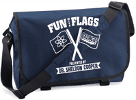 FUN WITH FLAGS M/BAG - INSPIRED BY SHELDON COOPER THE BIG BANG THEORY