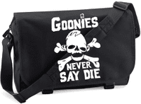 NEVER SAY DIE M/BAG - INSPIRED BY SLOTH THE GOONIES