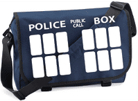 POLICE BOX M/BAG - INSPIRED BY DR.WHO