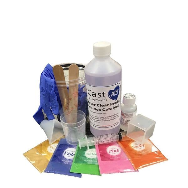 Polyester Water Clear Casting Resin Starter Kit
