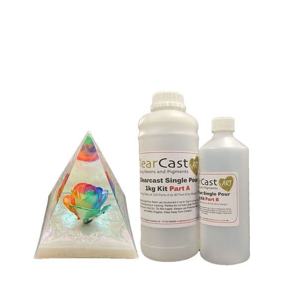 Single Pour Epoxy 1kg Kit