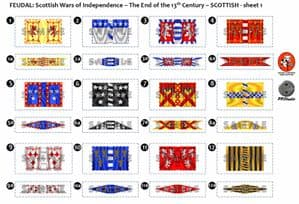BFL2001  Feudal: Scottish Wars of Independence  End of the 13th Century  Scottish Sheet 1
