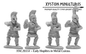 ANC20351 - Early Hoplites in Metal Cuirass