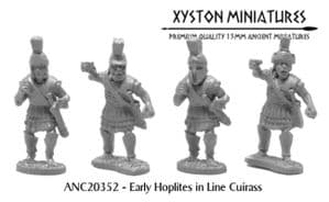 ANC20352 - Early Hoplites in Line Cuirass