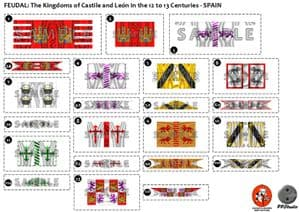 BFL2021 Feudal: The Kings of Castile and Leon in the 12th to 13th Centuries - Spain