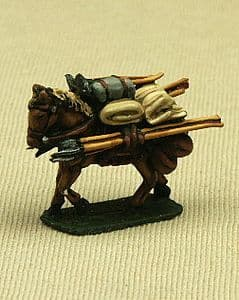 CB02 Baggage Horse with Frame
