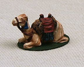 CB13 Camel with Saddle - Sitting