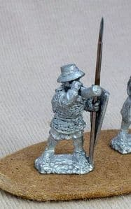 FEF11 12th C Infantry standard bearer/spearman