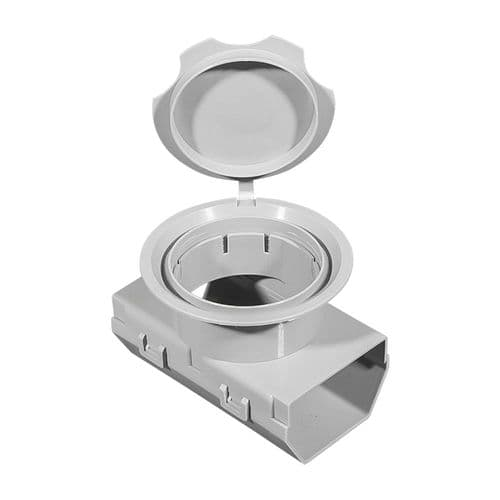 ABS Base-Drain Telescopic Inspection Ports