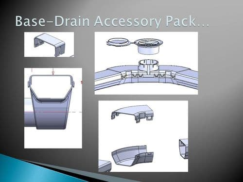 Base-Drain accessory kit - everything you need all in one box!