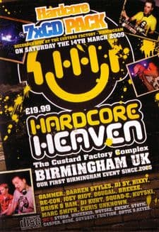 Hardcore Heaven March 2009 CD Pack