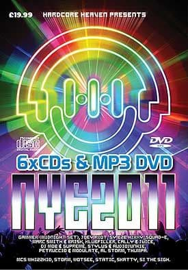 Hardcore Heaven New Years Eve 2011-12 Bournemouth CD+MP3 Pack