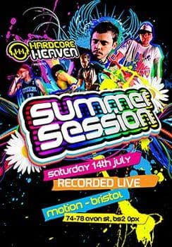 Hardcore Heaven - Summer Sessions 2012 CD & MP3 DVD Pack