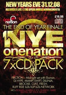 One Nation  - NYE 08/09 Bournemouth CD Pack