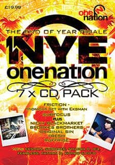 One Nation NYE 09/10 Bournemouth CD Pack