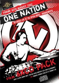 One Nation Opera House August 2007 CD Pack