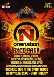 One Nation Opera House May 2008 CD Pack