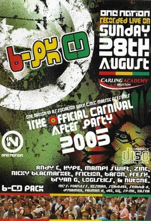 One Nation - The Official Carnival After Party - 2005